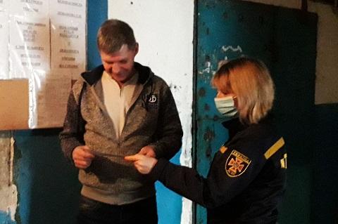 Спасатели г. Каменское напомнили жильцам общежитий ППБ Днепродзержинск