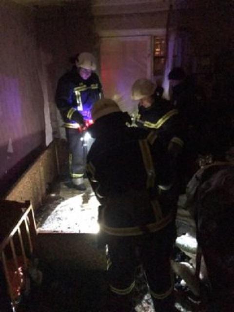 В Каменском в многоэтажном доме горела квартира Днепродзержинск