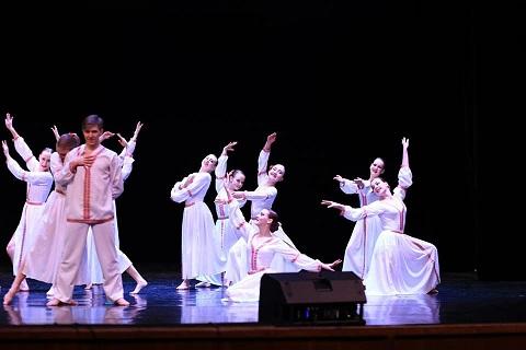 Каменские танцоры стали обладателями Гран-при международного фестиваля Днепродзержинск