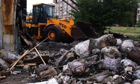 В Каменском демонтируют незаконные «металлоприемники» Днепродзержинск