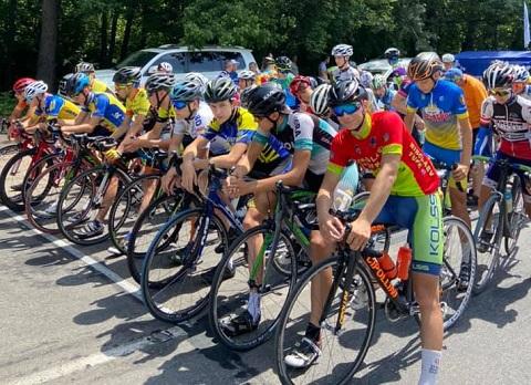 Каменские велогонщики стали обладателями наград чемпионата Украины Днепродзержинск