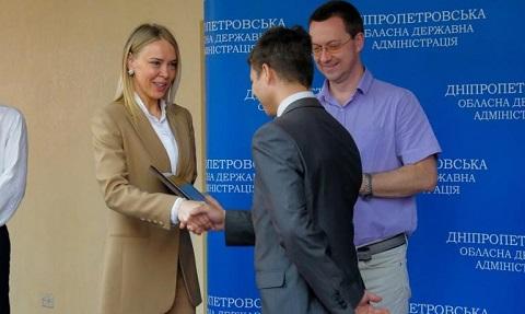 Каменская молодежь вошла в число призеров Всеукраинского конкурса МАН Днепродзержинск