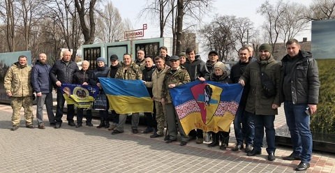 В городе Каменское на Майдане Героев отметили День украинского добровольца Днепродзержинск