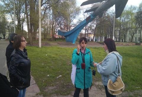 Первая экскурсия «Семь площадей» прошла в Каменском Днепродзержинск