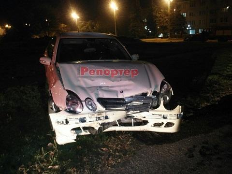 Серьезное ДТП произошло в Каменском недалеко от городского отдела полиции Днепродзержинск