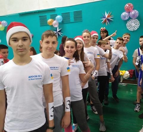 В ДЮСШ № 1 г. Каменское провели новогодний праздник Днепродзержинск