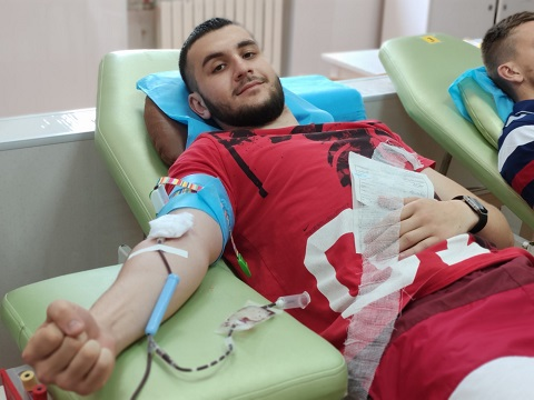 Каменчане провели День донора Днепродзержинск
