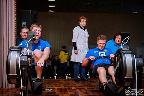 В соревнованиях на эргометрах спортсмен из Каменского занял 3 место Днепродзержинск