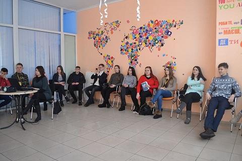 Культурно-молодежный центр г. Каменское провел литературный вечер Днепродзержинск