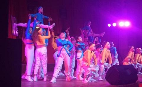 В городе Каменское провели праздник спортивного танца Днепродзержинск