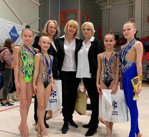 Юные грации г. Каменское получили 16 наград «Снежной феерии -2020» Днепродзержинск