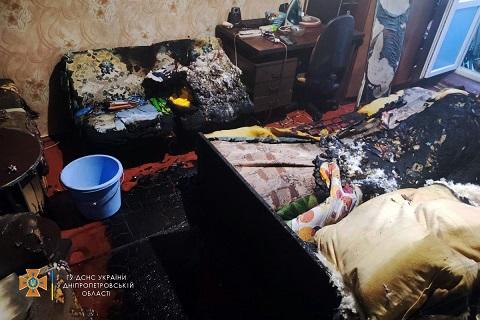 В Каменском в Днепровском районе пожар потушили до прибытия спасателей Днепродзержинск