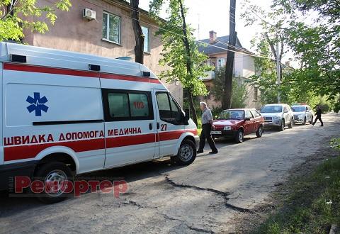 В г. Каменское пожар тушили Днепродзержинск