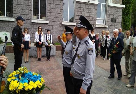 Каменчане на митингах почтили память погибших за годы войны Днепродзержинск