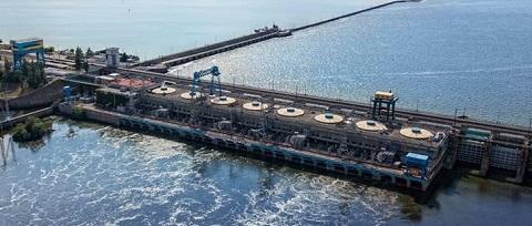 В Каменском продолжают реконструкцию ГЭС Днепродзержинск