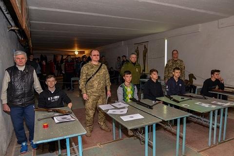 В городе Каменское для старшеклассников провели турнир по стрельбе Днепродзержинск