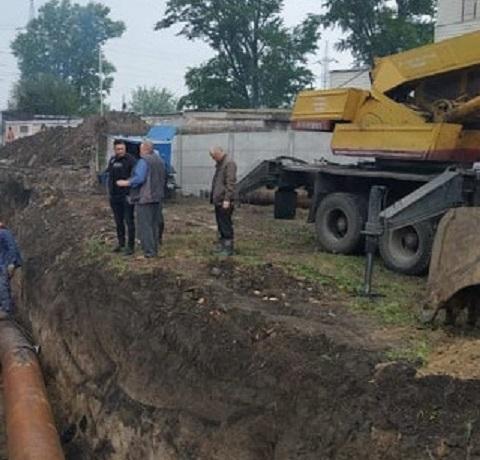 В Каменском проводят плановые работы на канализационном коллекторе  Днепродзержинск