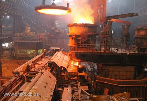 На «ДМК» Каменского провели плановый ремонт конвертера №2 Днепродзержинск