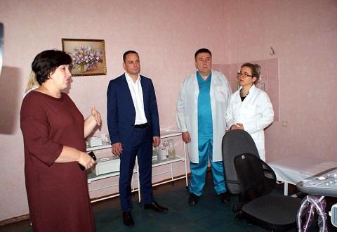 На левобережье Каменского оборудование поликлиники пополнит цифровой аппарат УЗИ Днепродзержинск