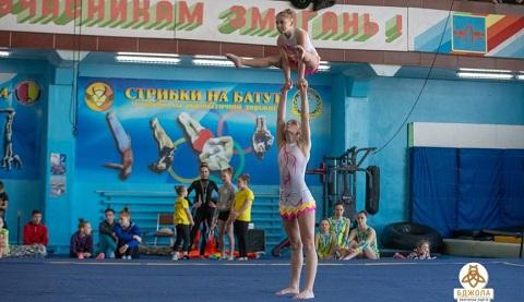 В городе Каменское прошел чемпионат по спортивной акробатике Днепродзержинск