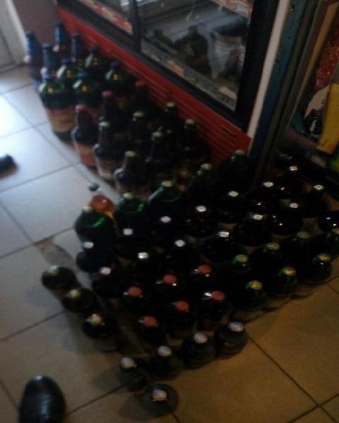 Полиция Каменского выявила факт нарушения торговли подакцизным товаром Днепродзержинск