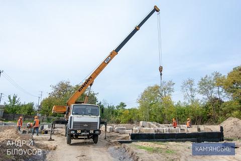 В Каменском продолжают строительство амбулатории в Романково Днепродзержинск