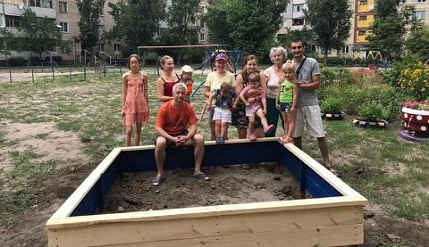 Благоустройство левобережья Каменского продолжается Днепродзержинск