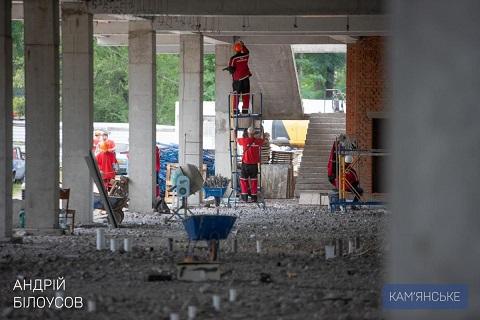 Самый большой в области Дворец Спорта строят в Каменском Днепродзержинск