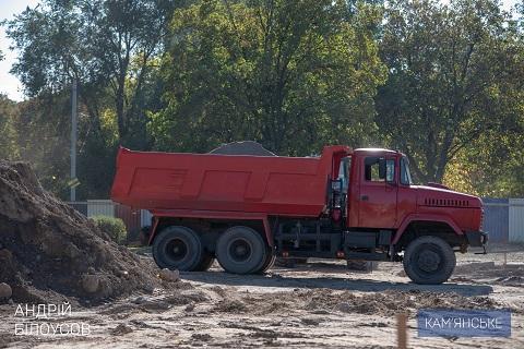 В Каменском готовят фундамент под строительство Ледовой арены Днепродзержинск