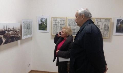 Выставка городской архитектуры г. Каменское приняла первых посетителей Днепродзержинск