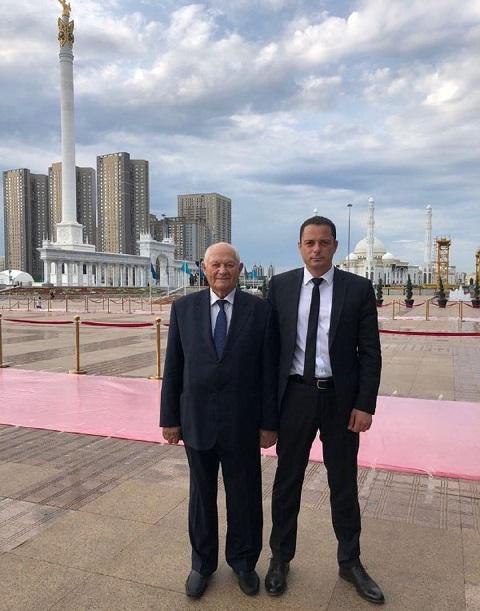 Мэр г. Каменское с официальным визитом посетил Казахстан Днепродзержинск