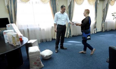 Мэр г. Каменское А. Белоусов оказал помощь в обеспечении военных на передовой Днепродзержинск