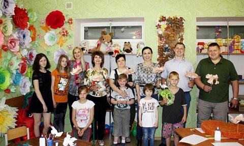 В Каменском сотрудники «ДнепрАзота» провели встречи с детьми Днепродзержинск