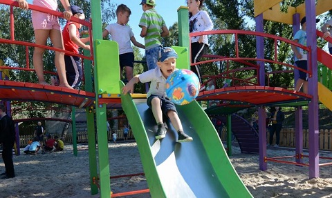 «Казкове місто» стало новой зоной отдыха для жителей Каменского Днепродзержинск