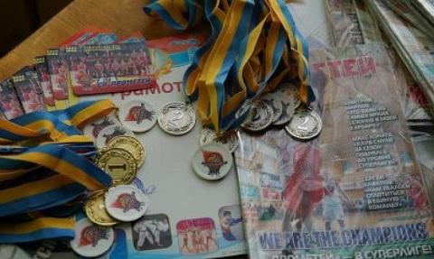 Школьники г. Каменское завершили чемпионат по баскетболу Днепродзержинск