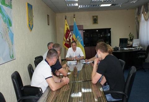 В Каменском горсовете прошло рабочее совещание  Днепродзержинск