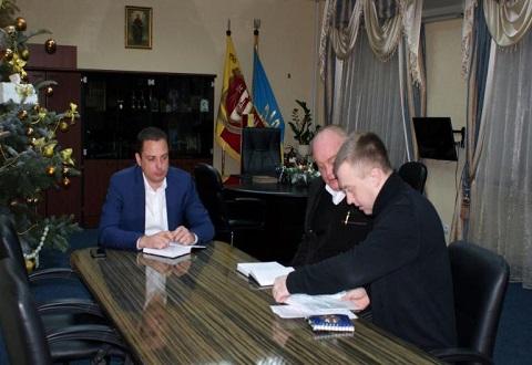 Градоначальник Каменского провел встречу с руководством ОО «Патриот-2015» Днепродзержинск