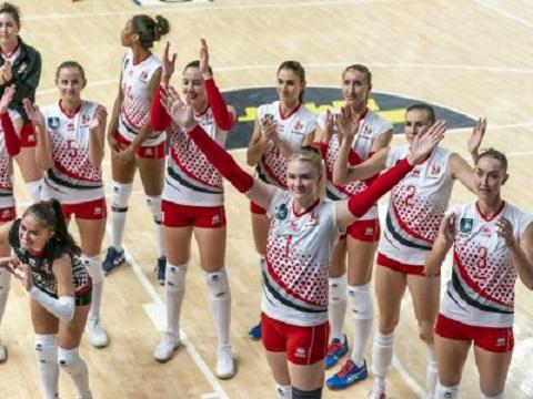 Каменские волейболистки выиграли вторую встречу в Суперлиге Днепродзержинск