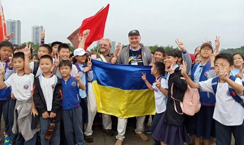 Каменчанин стал победителем на Кубке мира по запуску воздушных змеев Днепродзержинск