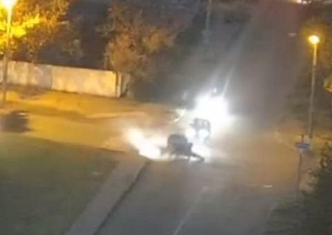В Каменском произошло вечерне ДТП Днепродзержинск