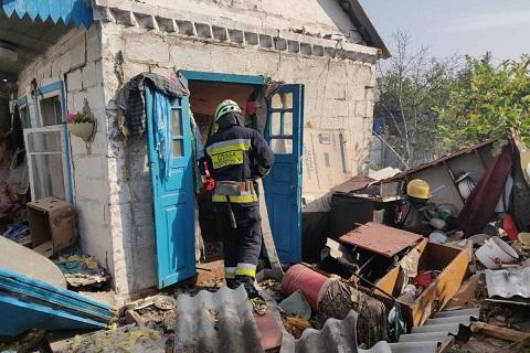 В областном центре взорвалась плита в летней кухне  Днепродзержинск