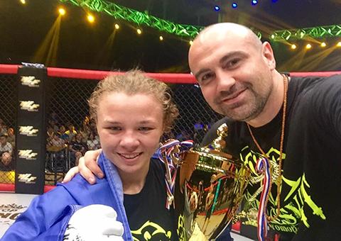 Каменчанка одержала победу на турнире в Китае среди профессионалов Днепродзержинск