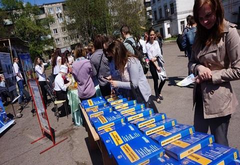 К профориентации выпускников школ г. Каменское подошли ответственно Днепродзержинск