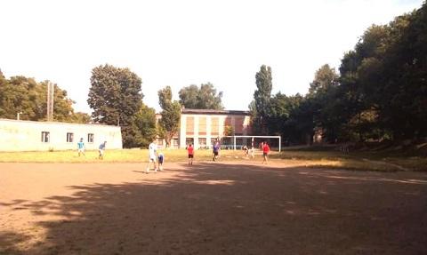 Дворовые футбольные команды г. Каменское провели соревнования Днепродзержинск