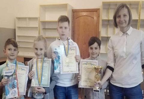 Спортсмены Каменского стали победителями на областных соревнованиях по шашкам Днепродзержинск