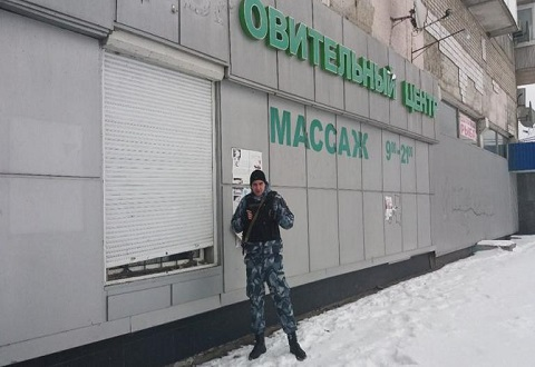 В Каменском «Цитадель» задержала взломщика у «Оздоровительного центра» Днепродзержинск