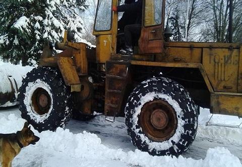 Каменская «Цитадель» помогла расчистить дорогу к садам Днепродзержинск
