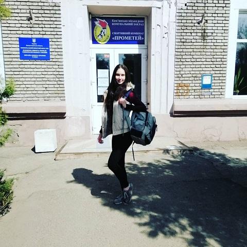 На соревнованиях по фигурному катанию на роликах победила спортсменка из Каменского Днепродзержинск