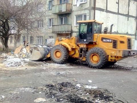 Каменское продолжают освобождать от незаконных построек МАФ Днепродзержинск