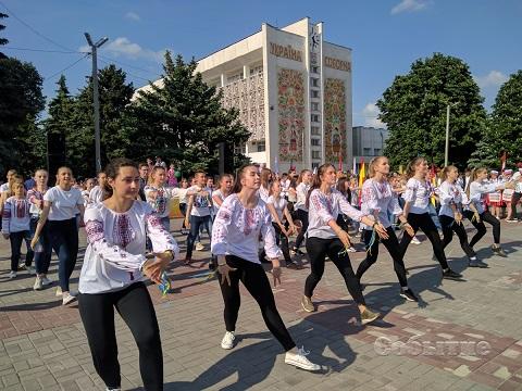 Каменчане праздновали День Европы Днепродзержинск